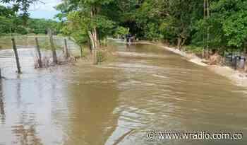 Se desbordó el río de Lebrija en Santander - W Radio