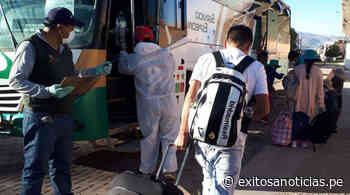 siguiente Coronavirus: Se realizó el primer traslado humanitario desde Arequipa-Orcopampa - exitosanoticias
