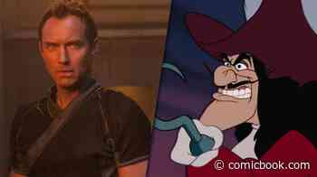 First Photos of Jude Law as Captain Hook in Disney's Peter Pan & Wendy Surface Online - ComicBook.com