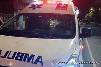 En Tocancipá atacan ambulancia y mujer embarazada perdió su bebé - Noticias Día a Día