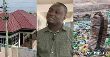 Nelson Boateng: Ghanaian innovator builds house with plastic waste - Yen.com.gh