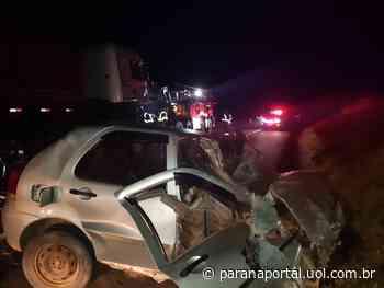 Acidente na BR-373 deixa uma pessoa gravemente ferida, em Imbituva - Paraná Portal