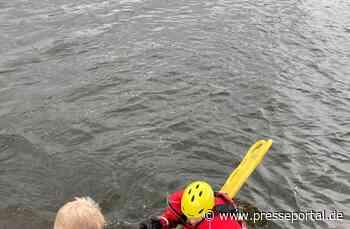 FW-EN: Hattinger Feuerwehr rettet Hund aus der Ruhr