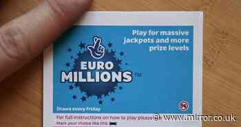 EuroMillions winning numbers for £59million jackpot on Friday, May 7