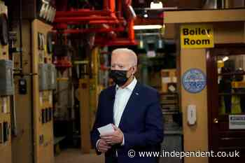 'Cos I'm worried about you': Biden pokes back at reporter who challenged him on wearing a mask
