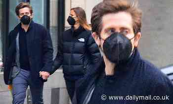 Jake Gyllenhaal, 40, makes a rare sighting with his French model girlfriend Jeanne Cadieu, 22