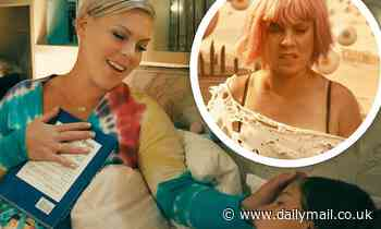 Pink tells daughter Willow the story of her life in emotional fairytale video for All I Know So Far