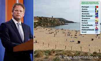 Blow for Malta as island is left OFF green list of 'safe' holiday spots