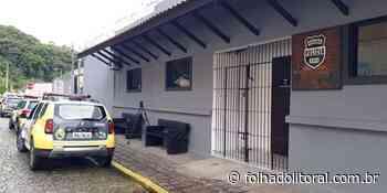 Suspeito de envolvimento com o Tribunal do Crime é preso em Antonina - Folha do Litoral News
