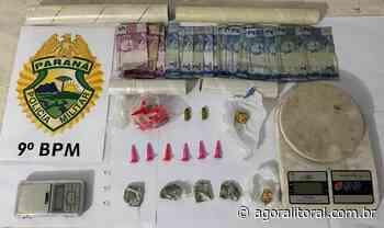 PM prende trio acusado de tráfico de drogas em Antonina - Agora Litoral