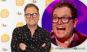 Alan Carr 'realised how fat he had got' in lockdown filming new show
