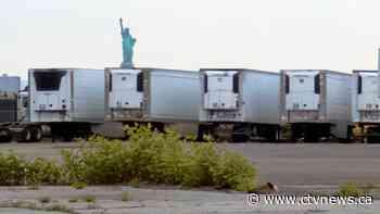 NYC still storing COVID-19 victims in refrigerated trucks - CTV News