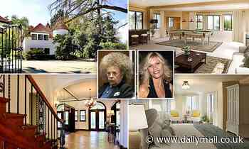 Phil Spector's LA murder mansion where he shot actress Lana Clarkson dead in 2003 sells for $3.3M