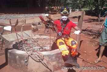 Bombeiros resgatam homem em cisterna desativada em Ituiutaba - Tudo Em Dia