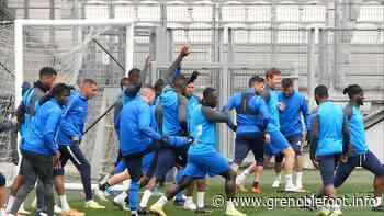 GF38 : les joueurs retenus pour le déplacement à Auxerre - Grenoble Foot Info