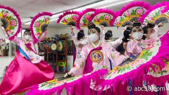 Second-generation Korean Americans preserve Korea's fan dance in New Jersey