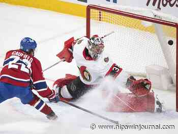 Cole Caufield's first NHL goal is an overtime winner over Senators - Nipawin Journal