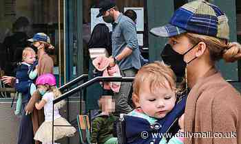 Blake Lively and Ryan Reynolds seen out for FIRST TIME with youngest child Betty, one