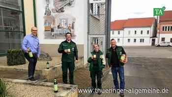 Auszubildende der Brauerei Apolda entwickeln Frühlingsbier - Thüringer Allgemeine