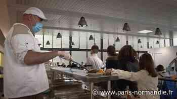 À Saint-Romain-de-Colbosc, les collégiens mangent local et la cantine remporte un trophée national - Paris-Normandie