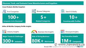 Evaluate and Track Crane Companies | View Company Insights for 100+ Crane Manufacturers and Suppliers | BizVibe