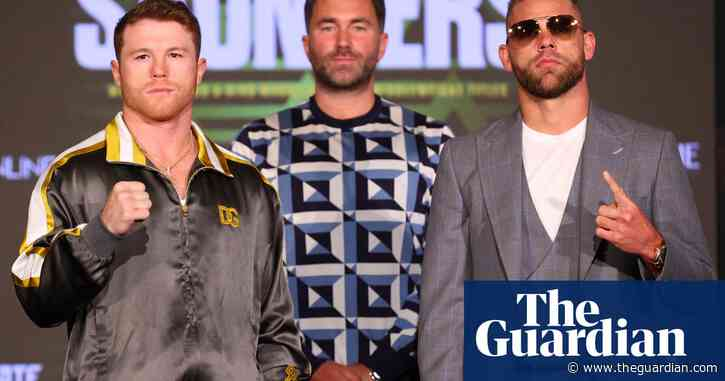 Saunders can give Alvarez problems but he may yet regret his impudence   Donald McRae