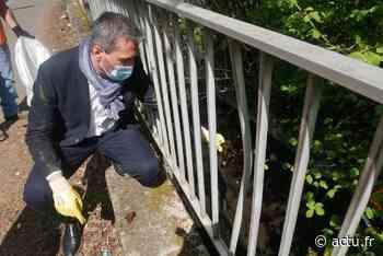 Seine-et-Marne. Ramassage des déchets, la municipalité de Nemours veut montrer l'exemple - actu.fr