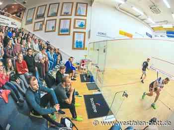 Squash: Einfachrunde der 1. Bundesliga Nord wird in Bremen und Paderborn ausgetragen: Drei Heimspiele für den PSC - Westfalen-Blatt