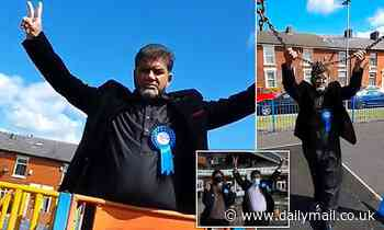 'Bojo of Blackburn' Tory candidate WINS election by 113 votes