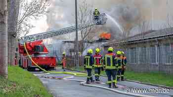 Bad Berka: Brand in Station der jungen Techniker und Naturforscher - MDR