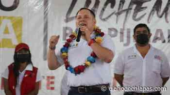 Romeo Medina va por Pijijiapan - Diario de Chiapas