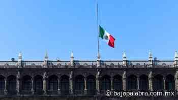 Palacio Nacional iza bandera a media asta por víctimas del Metro - Bajo Palabra Noticias