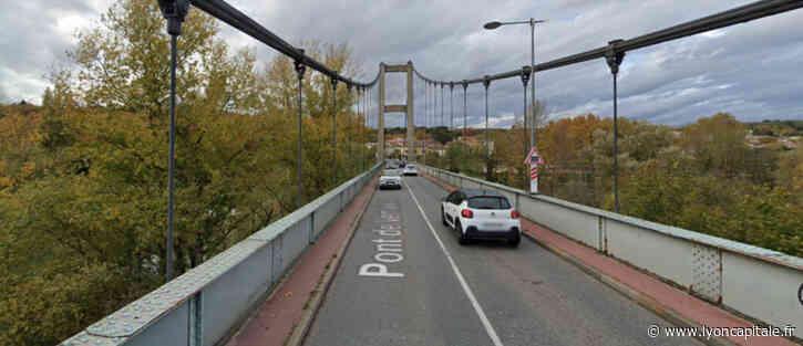 Sud de Lyon : pont de Vernaison, un nouveau pont temporaire à venir - LyonCapitale.fr