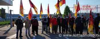 Villasanta, protesta dall'alba di 63 dipendenti della Tagliabue Gomme - Il Cittadino di Monza e Brianza