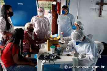 Combate à pandemia Moradores de Itaituba e Aveiro são atendidos pelo Barco Hospital Papa Francisco Pela - Para