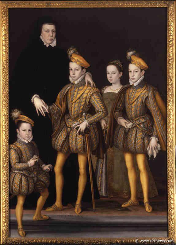 Rarely Seen Catherine de' Medici Portrait to Go On View inLondon