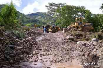 Amazonas: prorrogan estado de emergencia en Cajaruro afectado por deslizamientos - Agencia Andina