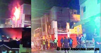 Camaná: Incendio por explosión de balón de gas deja tres heridos en Secocha - Los Andes Perú