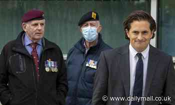 Former veterans minister Johnny Mercer slams Government plans to ban prosecutions of ex-soldiers