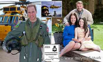 A former pilot has cancer caused by helicopter's fumes. Another exposed was...our future king