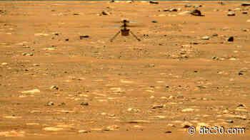 NASA Mars helicopter heard humming through thin Martian air in new video