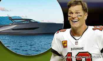 Tom Brady purchases a $6M Wajer yacht... upgrading from $2M boat he drove in Super Bowl parade