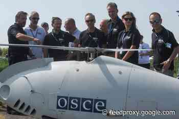 Jamming Strikes OSCE Drones Tracking Russian Forces