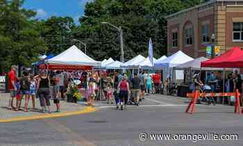'Quite exciting to have the market back outside' - Orangeville Banner
