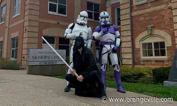 May the Fourth Be With You: Clone Troopers, Jedi surprise Orangeville for Star Wars Day - Orangeville Banner