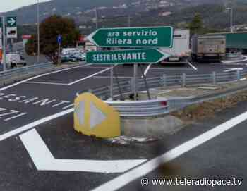 A12: questa notte chiuso il tratto tra Sestri Levante e Lavagna - Teleradiopace