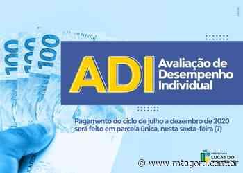 Servidores efetivos de Lucas do Rio Verde recebem bônus da ADI em parcela única - MT Agora