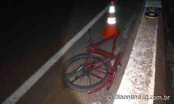 Ciclista morre após ser atropelado na BR-452, em Rio Verde - Dia Online
