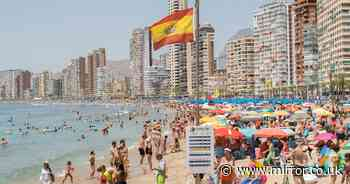 Benidorm bosses furious for being left off 'green list' despite low Covid rates