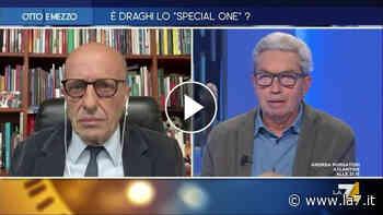 """Alessandro Sallusti e la 'bomba su Davigo': """"Ritiene che la casta dei giudici sia al di sopra di tutto"""". Padellaro: """"Per cosa è indagato? Non sei garantista"""" - La7"""